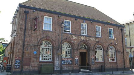 The Old Crown pub in Royston