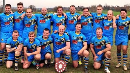 St Albans Centurions with the Raging Bull Shield.
