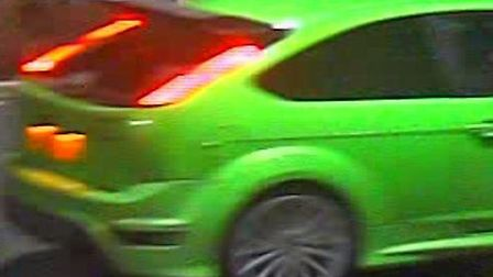 Police are appealing for information about this car.