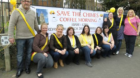 Members of the Save the Church Chimes of Ashwell group