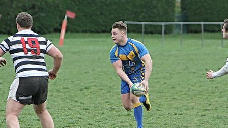 Action from Verulamians win over Royston. Picture: Digital Sports Media