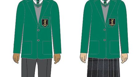 What a bottle green uniform could look like at Hinchingbrooke.