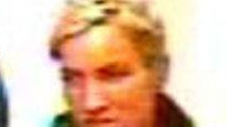 Police wish to speak to this woman in connection with a theft in Boots in Royston