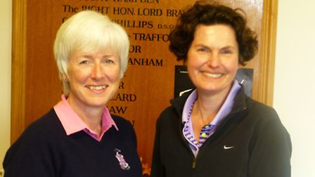 Sue Bidwell and Sue Dean are into the third round of the Daily Maail foursomes competition