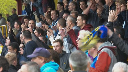 James Gray said the fans helped St Albans City earn a point at Hemel Hempstead. Picture: Bob Walkley