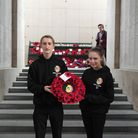 Students from the Meridian School visited Belgium at the weekend
