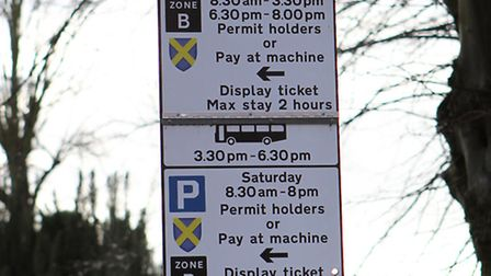 Parking wardens will be operating on Easter Sunday