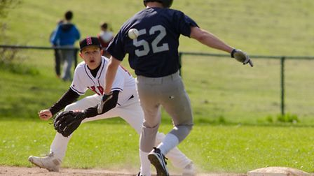 Action from the Herts Eagles' game against Oxford Kings. Picture: Richard Lee Photography