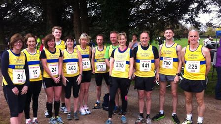St Albans Striders at Flitwick.
