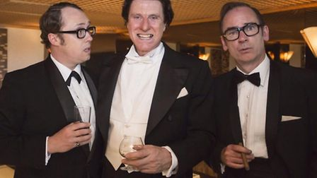 Bob Golding as Eric Morecambe, David Threlfall as Tommy Cooper and Paul Ritter as Eric Sykes