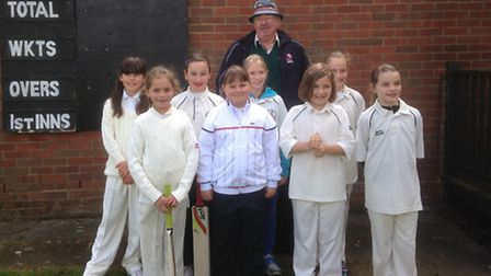 Pictured from left to right: Charlotte Bennett, Milly Mortimer, Amy Baxter, Carys Britten, Kate Down