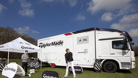 The TaylorMade Tour Van is set to visit Redbourn Golf Club on May 2.