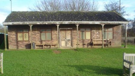 The old pavilion at Barkway Recreation Ground
