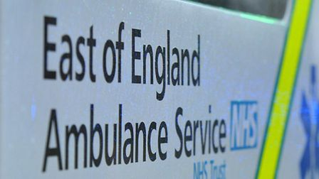 Two teenagers have been taken to hospital