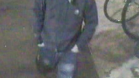 British Transport Police want to trace this man in relation with the theft of a bike in Huntingdon
