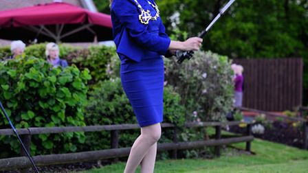 Mayor Annie Brewster officially opened the new 750,000 function space at Aldwickbury Park Golf Club.