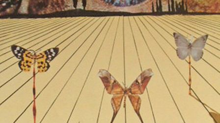 'Eye of Surrealist Time by Salvador Dali