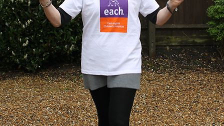 Gillian Phillpot is taking part in the London-Brighton walk for EACH