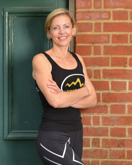 St Albans indoor cycling instructor Lottie Williams is training for the Macmillan Cycletta