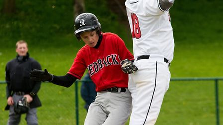 Herts Falcons suffered two key injuries in a loss to Bracknell Blazers. Picture: Richard Lee Photogr