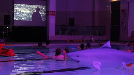 Jaws screening at Westminster Lodge - Photo by Katie Chell (Native Eye Team)