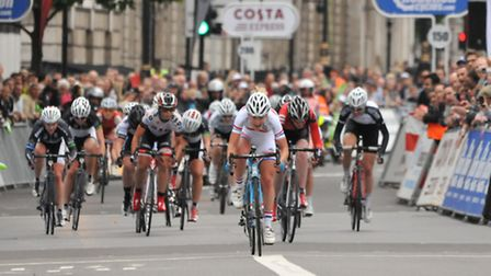 The Womens Tour comes to Hertfordshire today