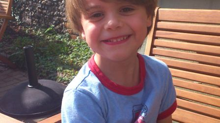 Finn, 8, will be playing at Upton Park in a charity football match later this month