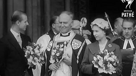 Queen Elizabeth and Prince Phillip at the Royal Maundy at the Abbey