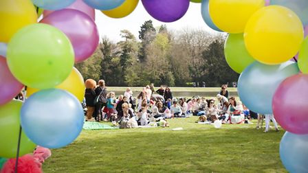 Bubbles, bunnies, puppets and pom poms: Verulamium's first baby rave was a success