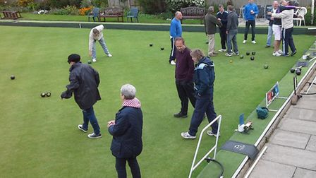 Townsend Bowls Club held its first Pubs and Clubs challenge on Sunday.