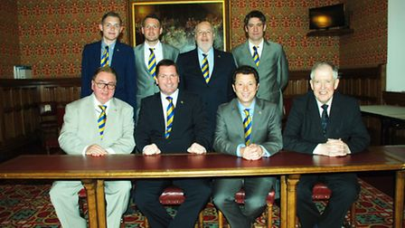 Friends of St Albans City Football Club attended an end-of-season reception hosted by Lord McNally a