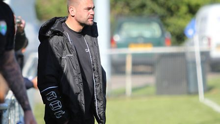 Colney Heath manager Wes Awad