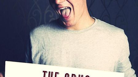 Jamie Laing will be appearing at the Snug tomorrow night