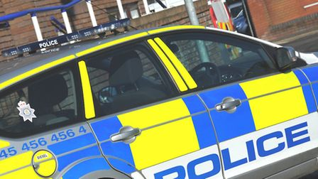 Police were called to the incident on the A14 eastbound carriageway this morning.