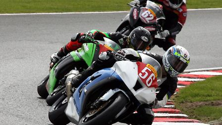 Royston rider James East. Picture by Nigel Shearing.