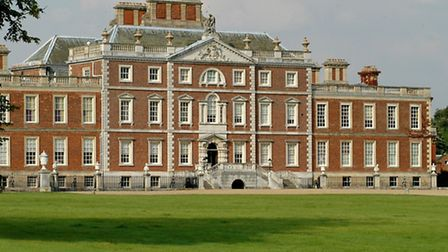 The county show is being held at Wimpole Hall