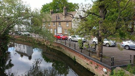 This picture of Hen Brook and South Street, St Neots, was taken by Keith Moss.