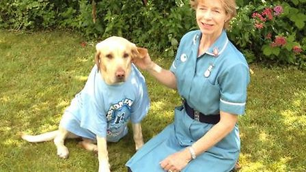 Margaret White, from Royston Veterinary Centre, will be judging the dog fancy dress competition at R