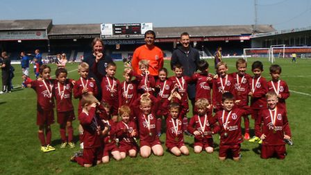 Wheathampstead Wanderers' U7s won the Hatters Cup.