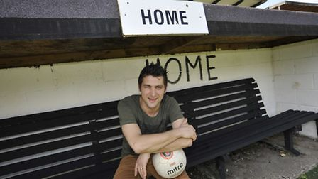 The new manager at St Ives Town Ricky Marheineke. Picture: Helen Drake