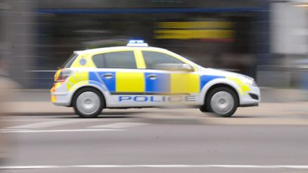 A man was arrested after a raid on a house in Royston