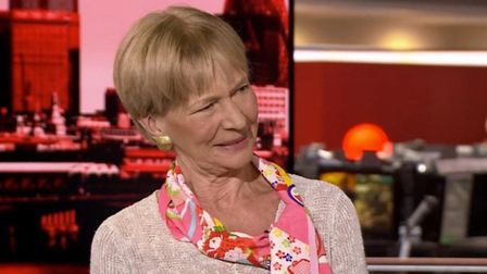 Isabel Hilton was told not to make any 'Remoaning speeches'. Photograph: BBC.