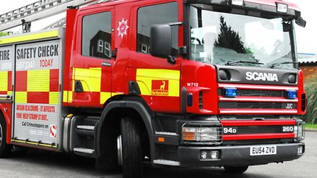 Firefighters were called to Cam Close in the early hours of this morning.