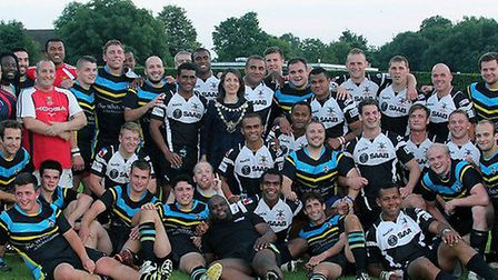 Centurions play the British Army on Wednesday evening.