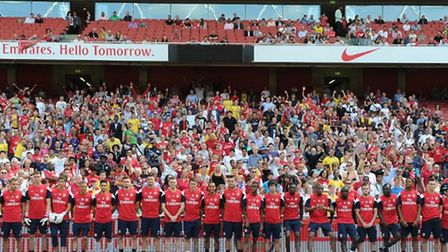 The FA Cup final will be screened live exclusively for Arsenal members at Emirates Stadium today. Th