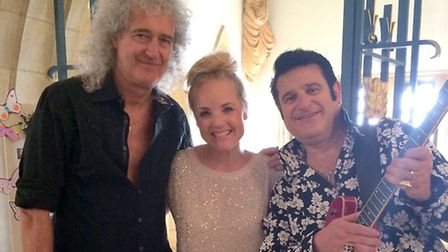 Brian May, Kerry Ellis and Shmelvis