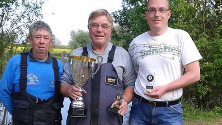 The Gordon Thomas Memorial match was won by guest angler Dave Saunders