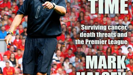 """Mark Halsey's autobiography """"Added Time"""""""