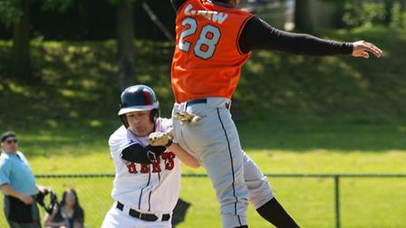 Action from Herts Falcons loss to Essex Arrows. Picture: Richard Lee Photography