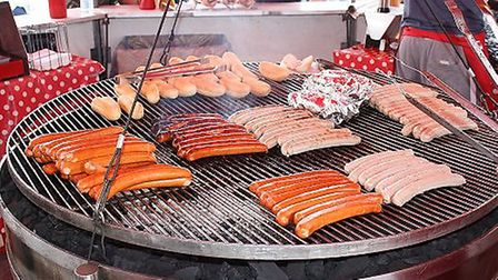 Just one of the treats on offer at the continental market will be bratwurst sausages.